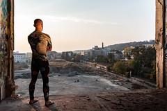 Fihgter (tarasqeuese) Tags: urbex factory sunset prague martialarts fight mma jiujitsu bjj fighter