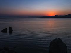 Меганом (nbannikov) Tags: red sunset crimea sea море крым закат судак меганом