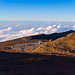 Parking lot Summit of Mount Haleakala Maui Hawaii