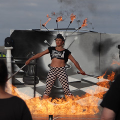 Senora's Gambit (MikeOB64) Tags: dance performance contemporary public fireeater