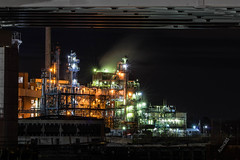 Aloha365 - Day 210 - November 13, 2018 - Chemical plant at night (alohadave) Tags: 365project aloha365 autumn bridge effects fall foreriverbridge infrastructure massachusetts night norfolkcounty northamerica partlycloudy pentaxk3 places quincy quincypoint season shipyardpoint sky twinriverstechnologies unitedstates weymouth smcpda60250mmf4edifsdm