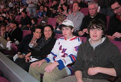 Ranger Game 1 (mossmanj2) Tags: andrew hockey marla michael myra