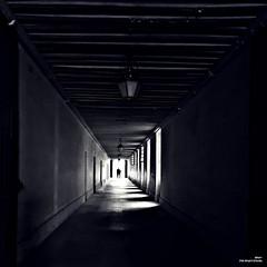 Sortir en couple. (Un jour en France) Tags: monochrome noiretblanc noiretblancfrance couple carré ef1635mmf28liiusm 6dmarkii 6d eos canon perspective square platz
