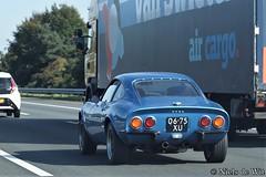 1973 Opel GT (NielsdeWit) Tags: nielsdewit 0675xu opel gt driving a12 highway 1973