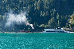 Achenseebahn (Peter Goll thx for +8.000.000 views) Tags: ebenamachensee tirol österreich at achenseebahn schiff austria alpen alps berge mountain see nikon nikkor d850 dampflok eisenbahn boot lake