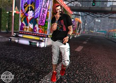 LOTD 285 (Brendo Schneuta) Tags: 28la shirts wolverine fatpack legalinsanity shorts street volkstone beard facial hipster ks poses pose mom menonly modulos hair beanie level shinyshabby fameshed fli sneakers shoes exclusive tatto bento catwa body mens male boy style fashion moda estilo secondlife secondlifeblog second sl keepcalm blog bloggersl blogger game avatar photoshop decoration new releases