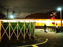 Tokyo (Meg Kamiya) Tags: tokyo japan night light colour city train olympus omd em10