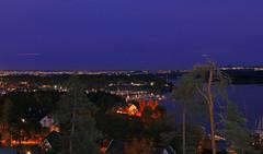 oslonight (Leifskandsen) Tags: night dark visitoslo oslo oslofjorden lights trees camera leica living leifskandsen leif skandsenimages scandinavia skandsen sea
