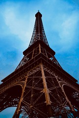 Gustave Eiffel's last hurrah (joanneclifford) Tags: 1889 architecture xf1855mm fujifilmxt20 metalwork constructor engineering france paris eiffeltower gustaveeiffel