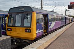 Northern 142039 (Mike McNiven) Tags: arriva railnorthern dmu diesel multipleunit wigan wallgate newtonheath tmd pacer