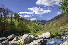 Italian landscape (Felix_65) Tags: adamello landscape mountains river sky nikond5100 afsdxnikkor18105mmf3556gedvr valcamonica italy italia italianlandscape italianvalleys