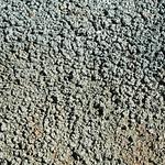 Popcorn weathering (Big Blue Bentonite, Sentinel Butte Formation, Upper Paleocene; Coal Vein Trail, Roosevelt National Park, Little Missouri Badlands, North Dakota, USA) 5 thumbnail
