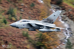 RAF Tornado GR4 ZA601 low level at Thirlmere (NDSD) Tags: low level panavia tornado gr4 thirlmere cumbria flying jet raf lake district plane aviation aircraft