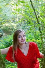 IMG_9334 (fab spotter) Tags: younggirl portrait forest levitation brenizer extérieur lumièrenaturelle
