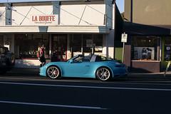 La Bouffe (Curtis Gregory Perry) Tags: portland oregon porsche targa blue labouffe montavilla automóvil coche carro vehículo مركبة veículo fahrzeug automobil