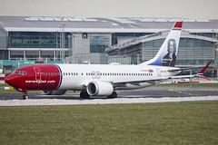 EI-FYC | Norwegian Air International | Boeing B737-8 MAX | CN 42825 | Built 2017 | DUB/EIDW 06/03/2018 (Mick Planespotter) Tags: aircraft airport 2018 nik collinstown b737 eifyc norwegian air international boeing b7378 max 42825 2017 dub eidw 06032018 dublinairport
