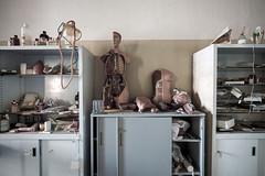 Body parts for demonstration (Mike Foo) Tags: urbex hospital manicomio fuji fujifilm xt2 abandoned abbandono rozklad hdr haunting scary lost secret decay derelict body asylum hallway medical