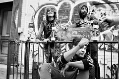 Wheels (runatail) Tags: runatail portrait group streetphotography fashion streetfashion candid canon5d canon blackandwhite monochrome newyorkcity nyc manhattan lowereastside