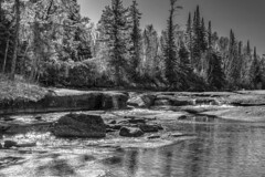 Whiteshell River Rapids: Low Water Levels (digismith44) Tags: river boreal canadian shield eastern manitoba