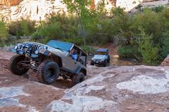 Steel Bender Finish (W9JIM) Tags: utah unitedstates w9jim moab jeep jeeping steelbender 5d4 24105l canoneos5dmarkiv ef24105mmf4lisusm rubicon waterinthedesert