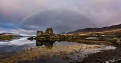 Under the dome (Phil-Gregory) Tags: eileendonalcastle naturalphotography naturalworld castle nikon d7200 tokina1120mmatx tokina wideangle ultrawide rainbow sky clouds cloudscape reflections scenicsnotjustlandscapes scotland dome highlands