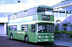 Slide 122-38 (Steve Guess) Tags: west croydon surrey england gb uk bus london country lcbs leyland atlantean kentishbus southeast lcse jpl138k an138 626