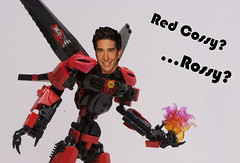 Red Cossy (Ben Cossy) Tags: red rossy moc afol tfol lego ccbs toa bionicle biogram biotube self lord fire blue flames