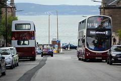 667 & 324 (Callum's Buses and Stuff) Tags: 667 rh lothianbuses lothian lrt leyland lothianreginaltransport edinburgh edinburghbus elmrow opendoors runningday gemini gemini2 madderandwhite madderwhite 26 volvo