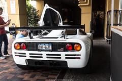 High Downforce (Hunter J. G. Frim Photography) Tags: supercar hypercar car week 2018 monterey carmel carweek mclaren f1 hdk wing british manual v12 white mclarenf1 rare carbon limited coupe mclarenf1hdk