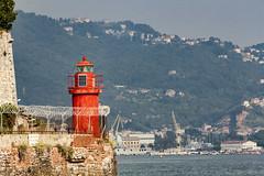 Little red lighttower (DVZs) Tags: lighttower vilagitotorony laspezia italy olaszorszag