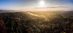 Lever de soleil sur la terre du milieu (jeje62) Tags: photoaérienne aérienne aerial dronestagram hdr france pasdecalais aerialphotography panorama dronephoto droneshoot drone dji phantom4 phantom