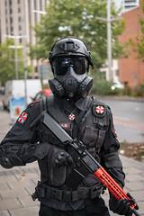 Umbrella Corporation Guard - Resident Evil (timz2011) Tags: umbrellacorporationguard residentevil bristolanimeandgamingconoctober2018saturday bristolanimeandgamingcon bagc cosplay anime gaming