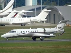 G-ZNTH Learjet 45 (c/n 540) EGLF (andrewt242) Tags: gznth learjet 45 cn 540 eglf