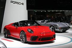 Porsche 911 991 Speedster Concept (Clément Tainturier) Tags: 2018 mondial de lautomobile paris autoshow motorshow france mondialdelautomobile salon auto voiture supercar hypercar gt sportscar supercars hypercars show motor porsche 911 991 speedster concept