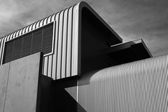 Building abstraction (g.finzi) Tags: fujifilmxh1 fujinon23mm14 building architecture deakinuniversity blackandwhite lines highcontrast inexplore