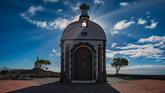 Ermita San Isidro (Jörg Bergmann) Tags: alajeró architecture calvario ermitasanisidro islascanarias lumixg20f17 lagomera panasonic20mmf17 panasonicdmcgf7 pancake teide backlight canarias canaryislands chapel church clouds españa gf7 gomera hiking lumix lumix20mm m43 mft micro43 microfourthirds panasonic sky spain sun sunrays travel trees vacation μ43 october 2018 picodelteide tenerife fall autumn contraluz otoño herbst
