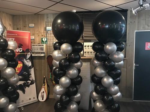 Ballonpilaar Breed Rond JumpXL Spijkenisse
