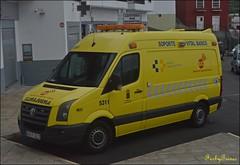 SUC (Emerbus112) Tags: volkswagen crafter ambulancias garcía tacoronte servicio urgencias canario canarias ambulance service svb soporte vital básico palma