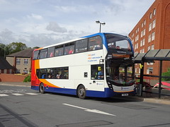 Stagecoach 10662 Chesterfield (Guy Arab UF) Tags: stagecoach yorkshire 10662 yx66wde alexander dennis e40d enviro 400 bus chesterfield coach station derbyshire buses