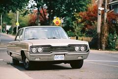 """Baby, you can drive my car"" (A. Martin) Tags: car dodge classic cars fall toronto photo journey 35mm film suburbs suburbia old nostalgic drive drivein walks high park"