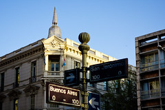 Banco Córdoba. Córdoba, Argentina. (pablocba) Tags: banco esquina cordoba bancor argentina sony rx100 edificio building buenos aires street calle cartel