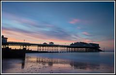 Cromer Sunset #1  smll (GOLDENORFE) Tags: norfolk cromer sunset littlestopper longexposure