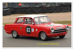 63 CUP_0319 (ladythorpe2) Tags: 2018 oulton park gold cup meeting circuit cheshire hscchrsr historic touring cars 52 mike stephenson 1965 ford lotus cortina 1558cc 63 steve cole