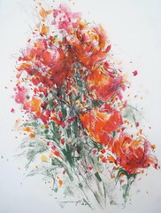 P1018750 (Gasheh) Tags: art painting drawing sketch nature flowers pastel color gasheh 2018