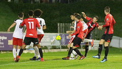 Lewes 2 Kings Langley 1 FAC replay 26 09 2018-284.jpg (jamesboyes) Tags: lewes kingslangley football nonleague soccer fussball calcio voetbal amateur facup tackle pitch canon 70d dslr