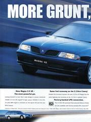 2000 Mitsubishi Magna 3.5 Litre V6 Sedan & Wagon Page 1 Aussie Original Magazine Advertisement (Darren Marlow) Tags: 2 3 5 20 00 2000 m mitsubishi magna 35 l litre s sedan w wagon c car cool collectible collectors classic a automobile v vehicle j ja japan japanese asian 00s