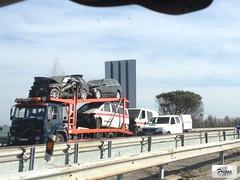 Volvo FL6 Car Transporter Recovery Truck - Portugal (Freggs) Tags: a1 volvo fl6 car transporter recovery truck portugal ambulance ambulância mercedes vito sprinter