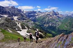 En la arista del Pimene (jaecheve) Tags: pirineos pirineo pyrennees francia france gavarnie astazous