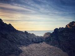 Desire (G.Billon) Tags: landscape seascape sunset cameraphone iphoneography iphoneografy iphone beach côtedémeraude breizh bzh bretagne saintlunaire gbillon