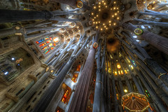 Sagrada Familia, Barcelona (CloudPhotoz) Tags: sagrada familia church église cathédrale espagne spain city ville barcelone barcelona